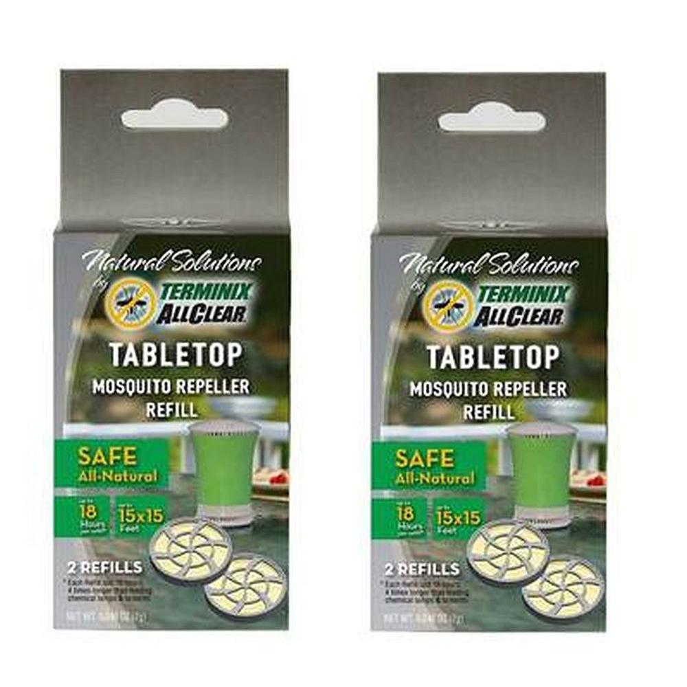 Terminix ALLCLEAR TableTop Mosquito Repeller Refill (4-Pack)