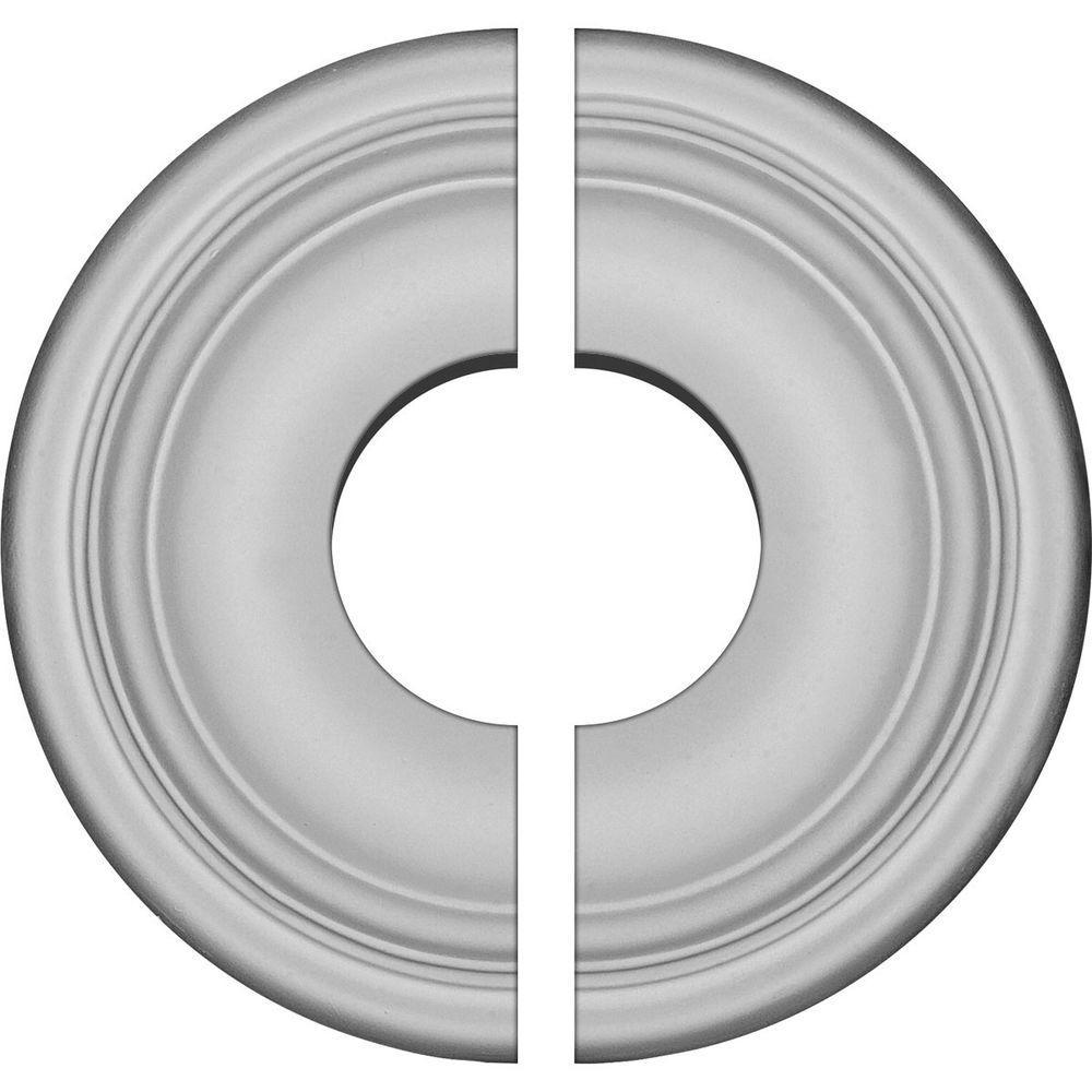 9-5/8 in. O.D. x 3-1/2 in. I.D. x 1-1/8 in. P Maria Ceiling Medallion (2-Piece)