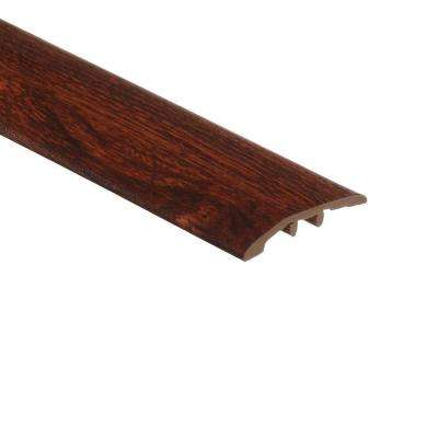 Cherry 5/16 in. Thick x 1-3/4 in. Wide x 72 in. Length Vinyl Multi-Purpose Reducer Molding