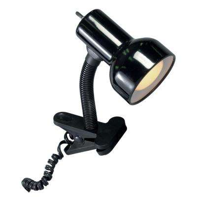 Joy 9 in. Black Desk Lamp