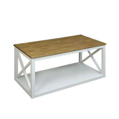 Botana White Coffee Table