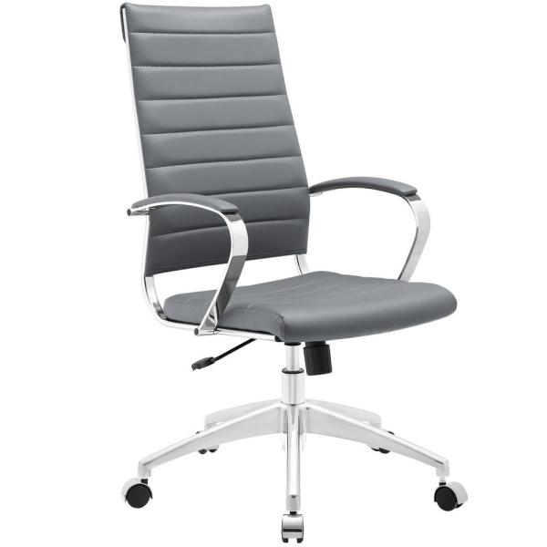MODWAY Jive Highback Office Chair in Gray EEI-272-GRY