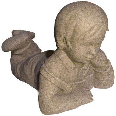 Boy Day Dreamer in Sandstone Finish