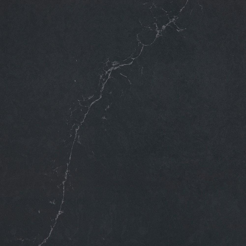 Lovely Silestone 2 In. X 4 In. Quartz Countertop Sample In Charcoal Soapstone