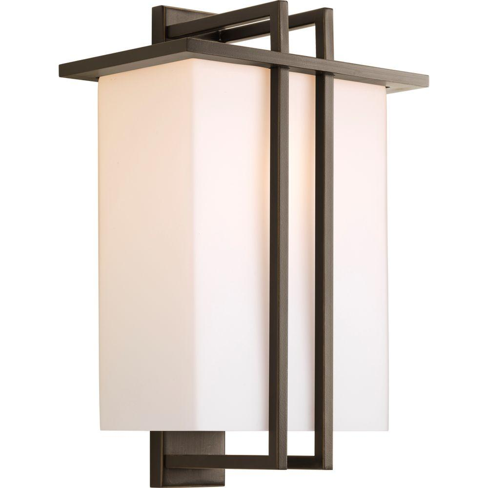 Dibs Collection 1-Light Outdoor Antique Bronze Wall Lantern