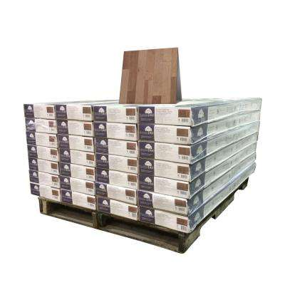 American Birch Silvered 3/8 in. x 4-3/4 in. Wide x Varying Length Engineered Click Hardwood Flooring (924 sq.ft./pallet)