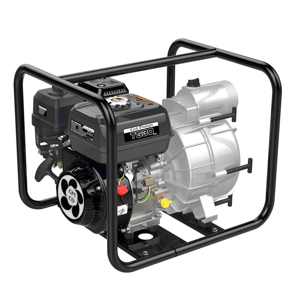 6 HP Trash Gas Powered Pump