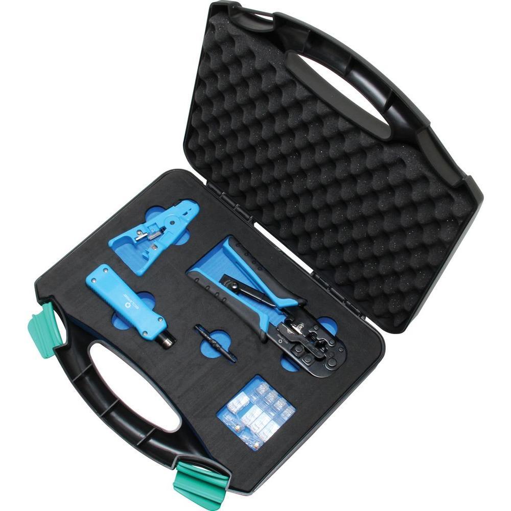 NF 268SET RJ45 RJ11 BNC USB LAN Network Tool Kit Cable ...