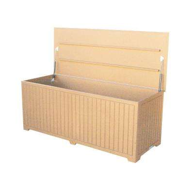 Sydney 110 Gal. Extra Large Cedar Recycled Plastic Commercial Grade Big Deck Box