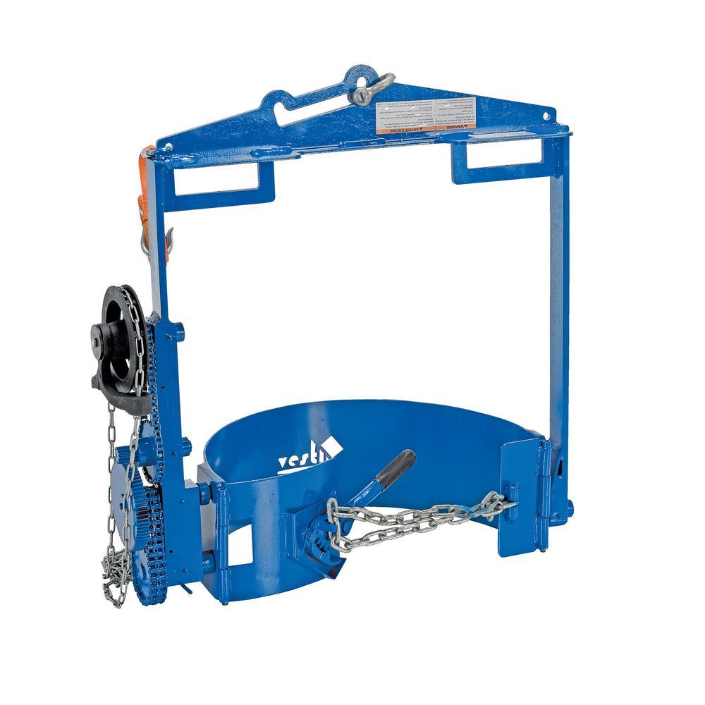 Vestil 800 lb. Capacity Drum Hoist Carrier/Rotator by Vestil