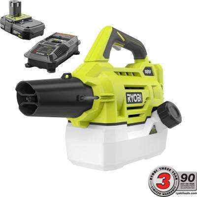 ONE+ 18-Volt Lithium-Ion Cordless Fogger 2.0 Ah Battery and Charger Included
