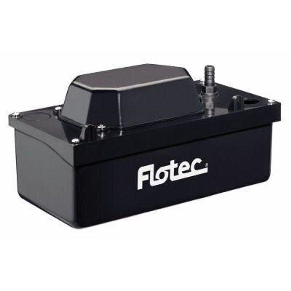 flotec condensate removal pumps fpcp 15uls 64_300 everbilt 120 volt condensate removal pump eb pump the home depot sanicondens condensate pump wiring diagram at suagrazia.org