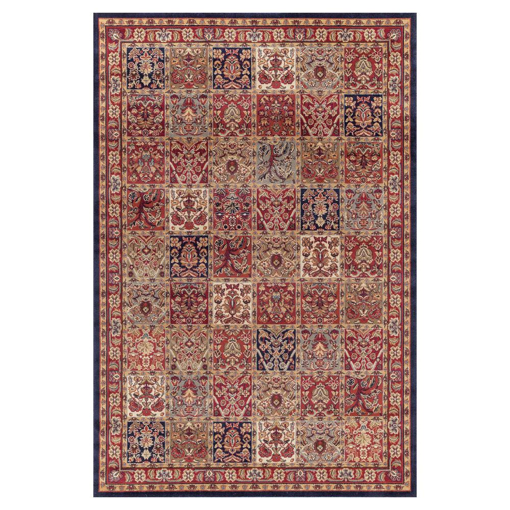 Concord Global Trading Jewel Panel Red 7 Ft 10 In X 9 Ft