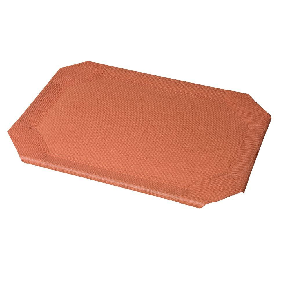 Coolaroo Medium Size Pet Bed Replacement Cover Terracotta