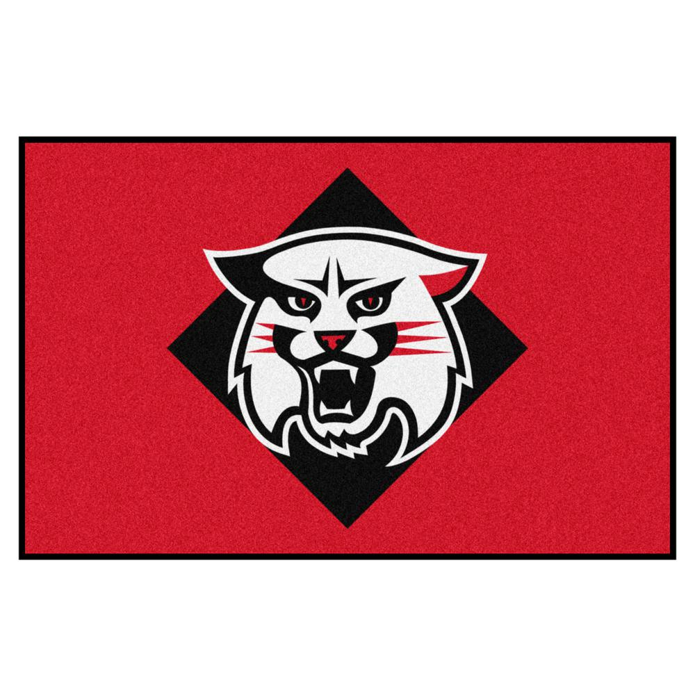 info for 3598c 802e7 NCAA Davidson College 19 in. x 30 in. Starter Mat Area Rug