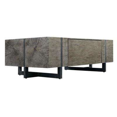 Laguna Dark Walnut Storage Coffee Table