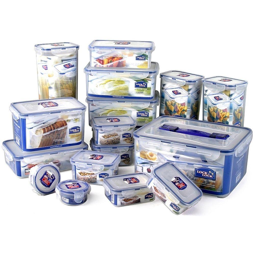 Lock and Lock 32 Piece Food Storage Set-DISCONTINUED