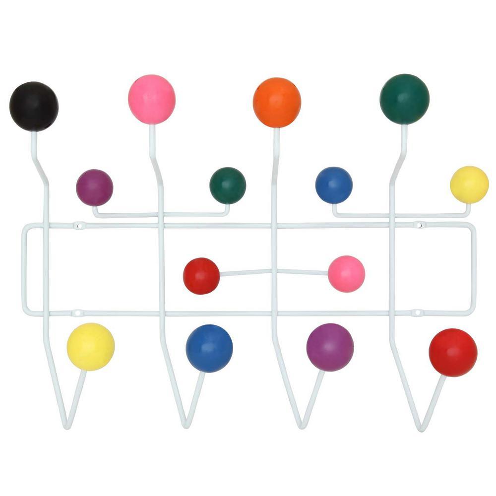 Gumball Multi-Colored Coat Rack