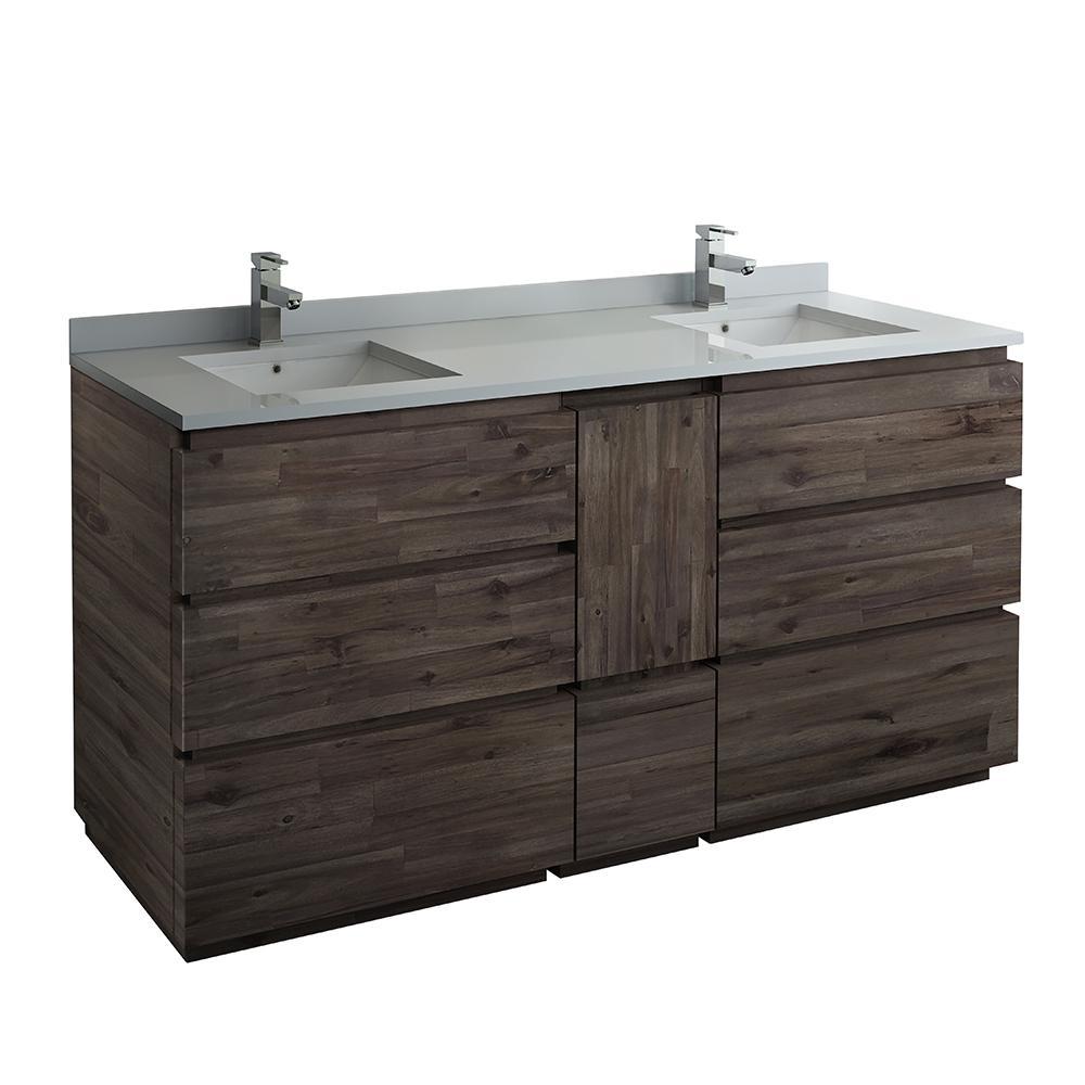 62 70 In Vanities Without Tops Bathroom Vanities The Home Depot