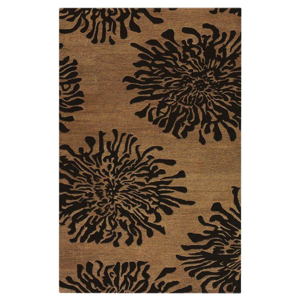 Home Decorators Collection Brunswick Cocoa 5 ft. 3 in. x 8 ft. 3 in. Area Rug