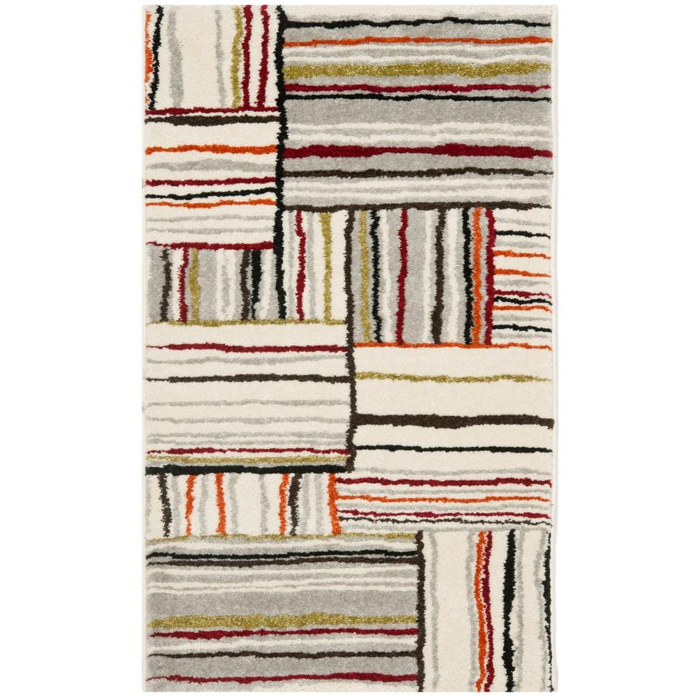Porcello Ivory 2 ft. 7 in. x 5 ft. Area Rug