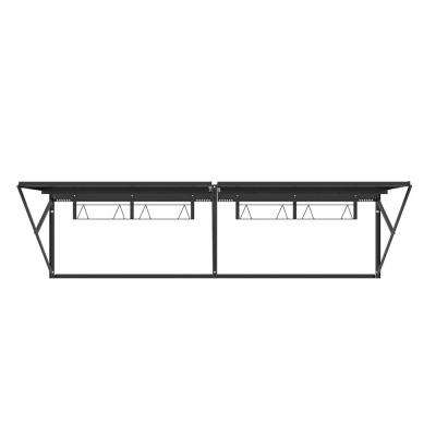 28 in. H x 96 in. W x 28 in. D Heavy Duty Steel Wall Storage Rack