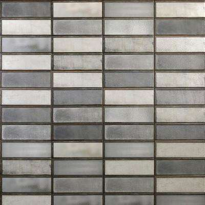 Piston Industrial Dark Gray 4 in. x 12 in. 7mm Matte Ceramic Subway Wall Tile (34-piece 10.97 sq. ft. / box)