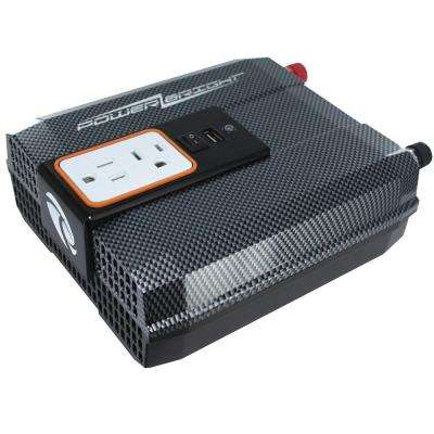 12-Volt DC to AC 750-Watt Power Inverter