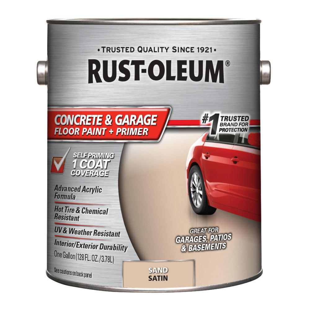 Rust Oleum 1 Gal Sand Satin Concrete Floor Interior