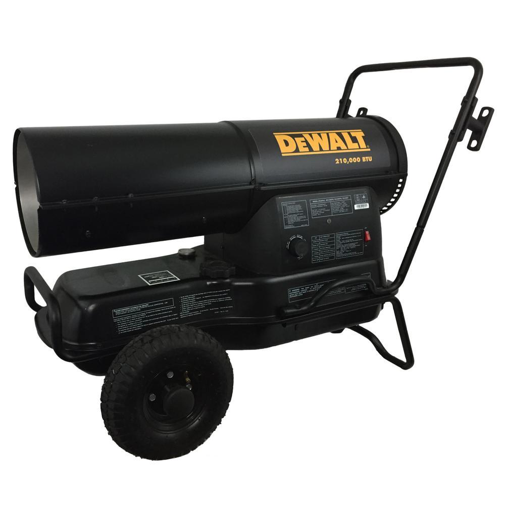 210,000 BTU Forced Air Kerosene Portable Heater