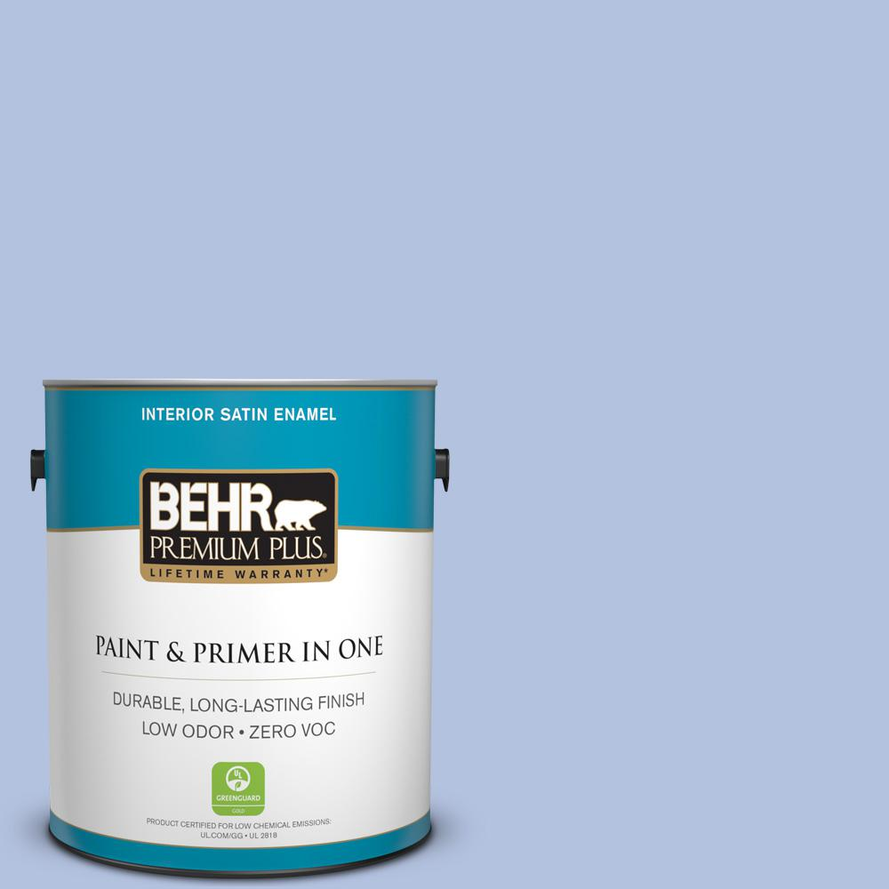 BEHR Premium Plus 1-gal. #M540-3 Eternal Elegance Satin Enamel Interior Paint