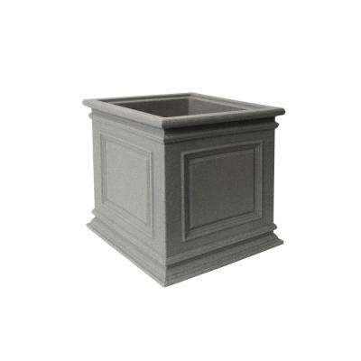 Covington 20 in. Taupestone Self-Watering Planter