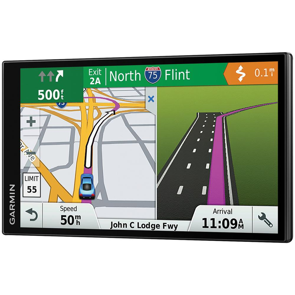 DriveSmart 61 GPS Navigator with Lifetime Maps of North America and