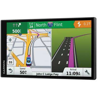 DriveSmart 61 GPS Navigator with Lifetime Maps of North America and Live Traffic