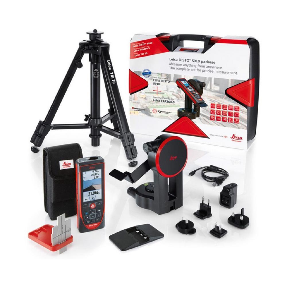S910 Laser Distance Meter Pro Kit (6-Piece)