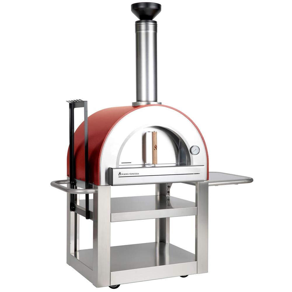 Forno Venetzia To 500 Wood Burning Oven 20 In X 24 Red