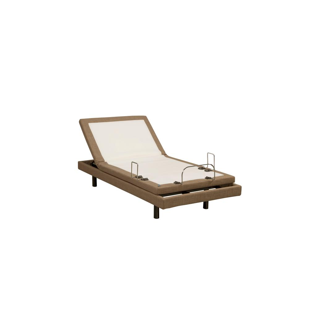 Blissful Nights M3000 Twin Long Adjustable Bed Frame BN3AB TL