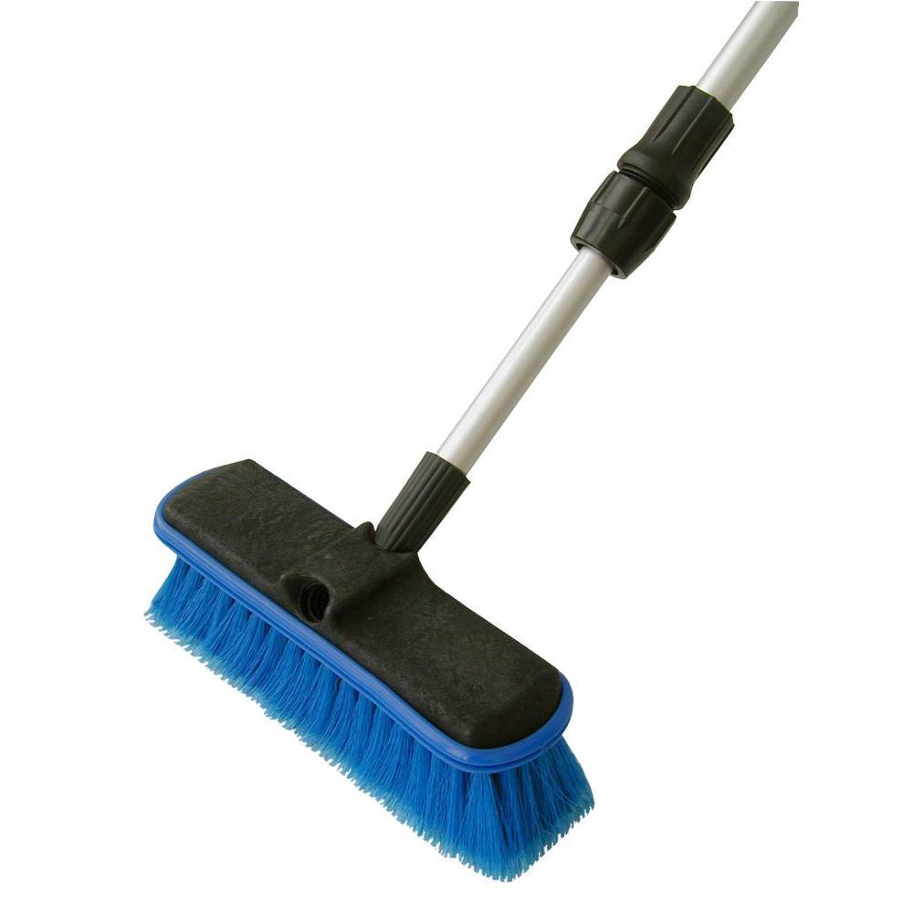 Car Wash Brush >> Detailer S Choice 60 In Flow Thru Wash Brush 4b369 6 The Home Depot