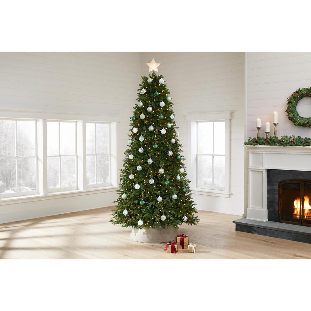 9 ft Windsor Fraser Fir LED Pre-Lit Artificial Christmas Tree with 1200 Color Changing Lights