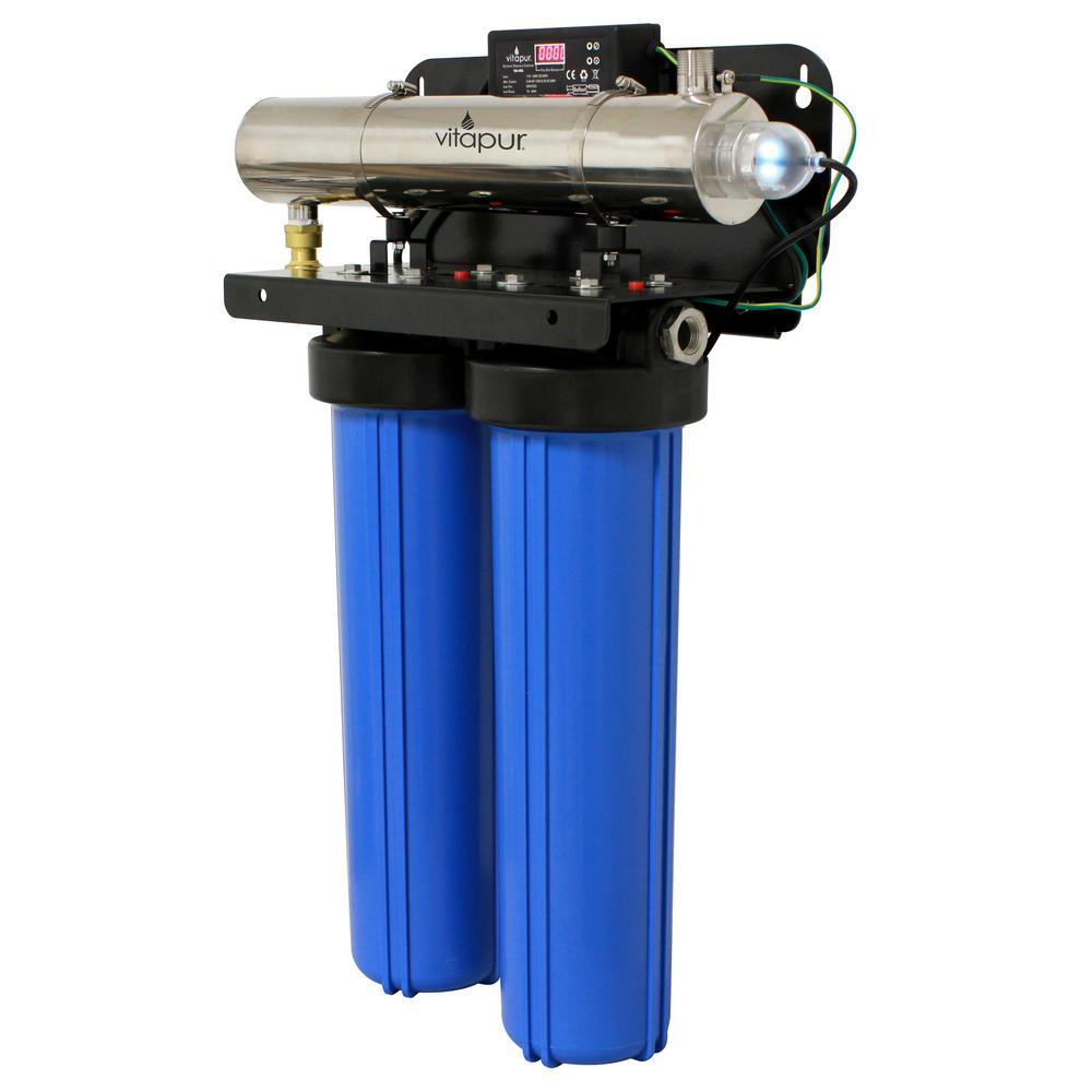 Vitapur Ultraviolet Whole House Water Disinfection and Filtration System