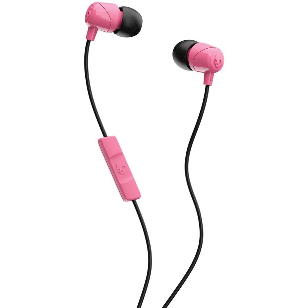 Skullcandy Jib In Ear Earbuds With Microphone In Pink S2duyk 630 The Home Depot
