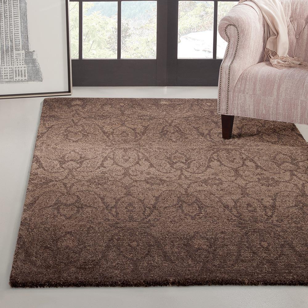 Sams international chelsea chocolate 5 ft 3 in x 7 ft 6 for International decor rugs