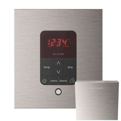 iTempo Plus Square Steam Shower Control in Brushed Nickel