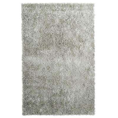 City Sheen Silver 2 ft. x 5 ft. Area Rug
