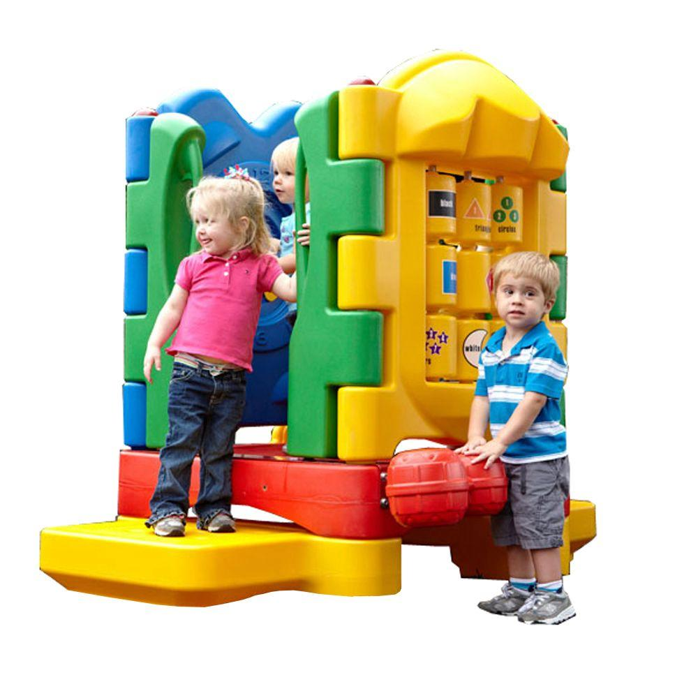 Ultra Play Discovery Centers Sprout No Roof Playset