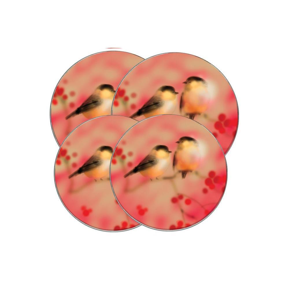 Range Kleen Winter Bird Hallmark Round Burner Kovers