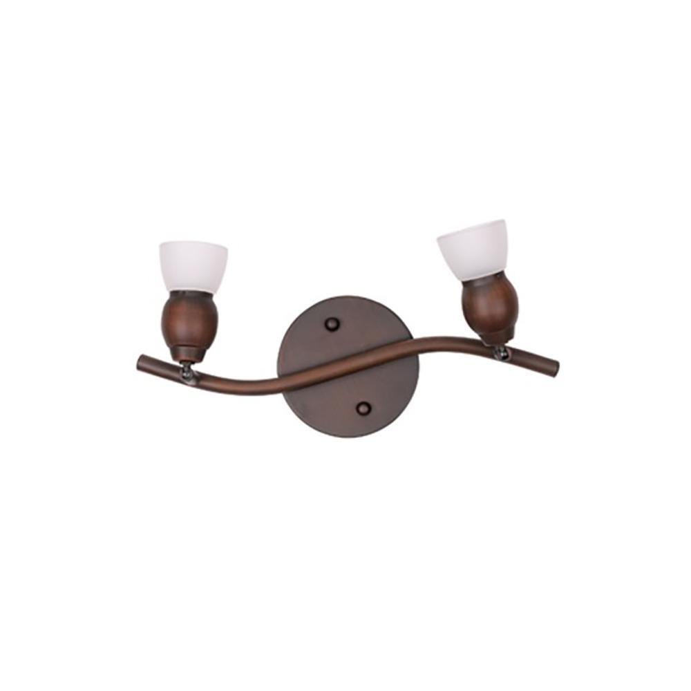 2-Light Oil-Rubbed Bronze Track Lighting Kit
