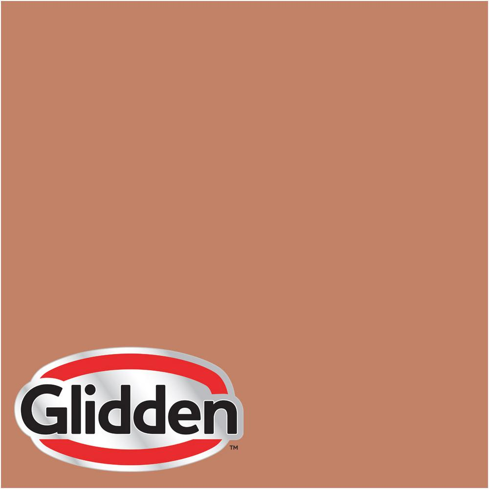 Glidden Premium 5 Gal Hdgo12u Dusty Terra Cotta Satin Latex Exterior Paint Hdgo12upx 05sa The Home Depot