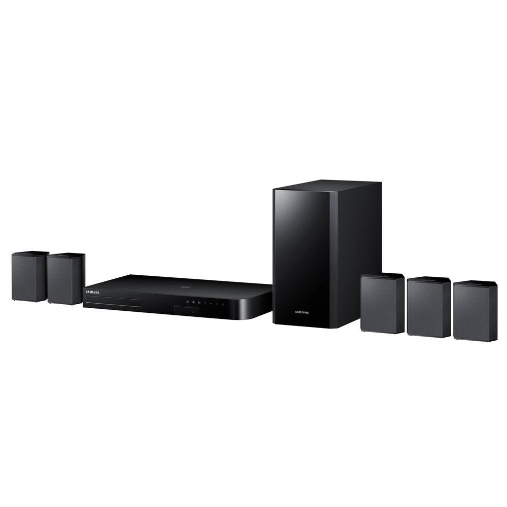 samsung 5 1 channel 3d blu ray home theater system with. Black Bedroom Furniture Sets. Home Design Ideas