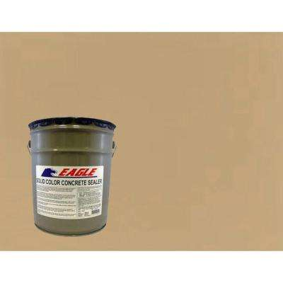 5 gal. Neutral Tan Solid Color Solvent Based Concrete Sealer